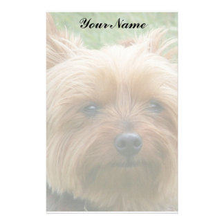 Yorkshire Terrier Stationery Paper