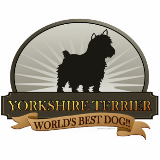 Yorkshire Terrier Statuette