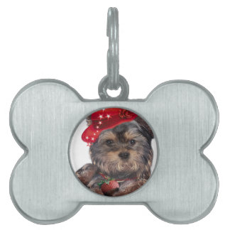 Yorkshire Terrier Strawberry Products Pet Name Tag