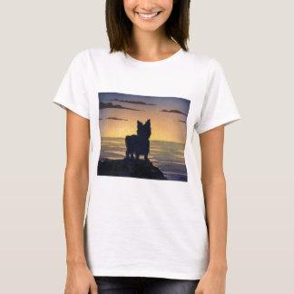 Yorkshire Terrier Sunset T-Shirt