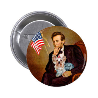 Yorkshire Terrier (T) - Lincoln Pinback Buttons
