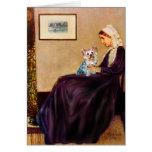 Yorkshire Terrier (t) - madre de las marmotas Felicitación