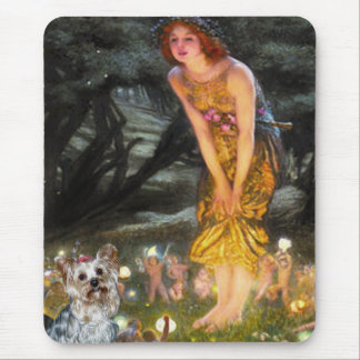 Yorkshire Terrier (T) - MidEve Mouse Pad