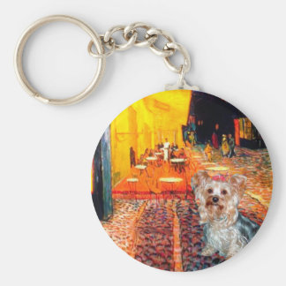 Yorkshire Terrier (T) - Terrace Cafe Keychain