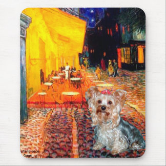Yorkshire Terrier (T) - Terrace Cafe Mouse Pad