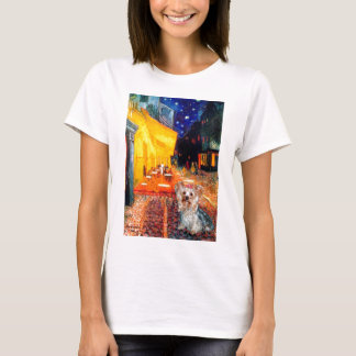 Yorkshire Terrier (T) - Terrace Cafe T-Shirt