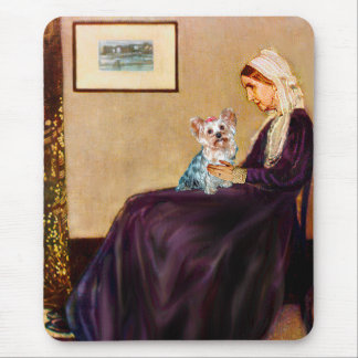 Yorkshire Terrier (T) - Whistlers Mother Mouse Pad