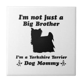 yorkshire terrier ceramic tile