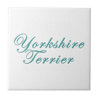 Yorkshire Terrier Tiles