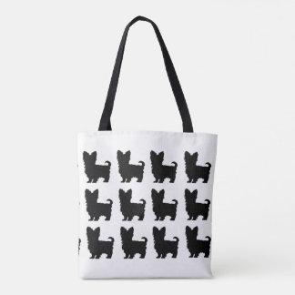 """Yorkshire Terrier"" Tote Bag"