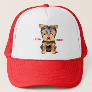 Yorkshire Terrier Toy Dog Gift Baseball hat