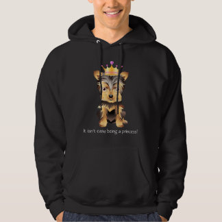 Yorkshire Terrier toy princess Dog Sweatshirt