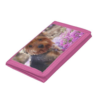 Yorkshire Terrier Tri-fold Wallets