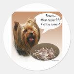 Yorkshire Terrier Turkey Stickers