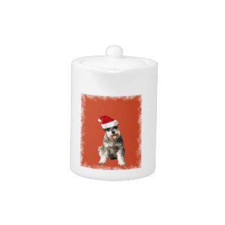 Yorkshire Terrier with Hat Teapot