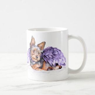 Yorkshire Terrier Yorkie Angel Coffee Mug