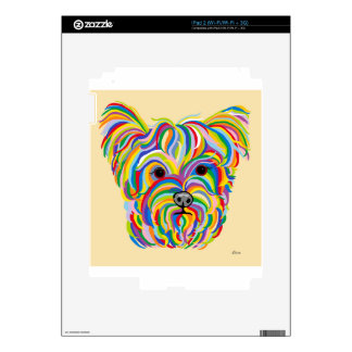 Yorkshire Terrier Yorkie Decals For iPad 2