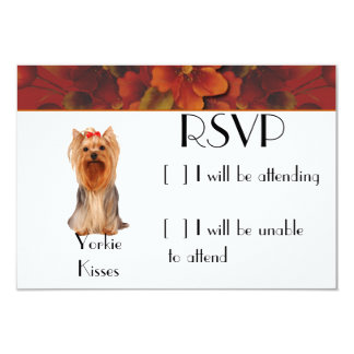 Yorkshire Terrier - Yorkie Kisses Card
