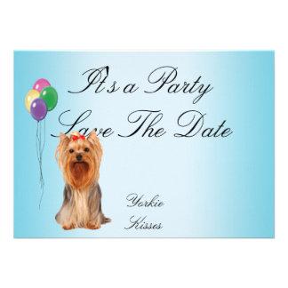 Yorkshire Terrier - Yorkie Kisses Announcement
