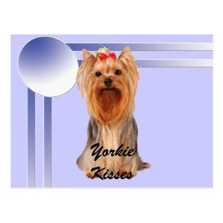 Yorkshire Terrier - Yorkie Kisses Postcard