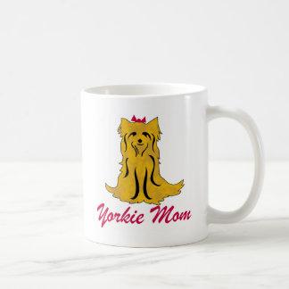 Yorkshire Terrier Yorkie Mom Coffee Mug