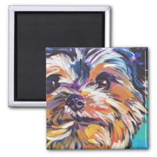 Yorkshire Terrier Yorkie Pop art Magnet