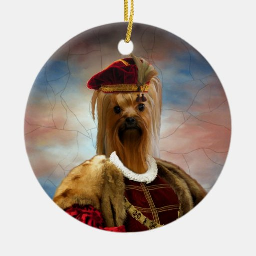 Yorkshire Terrier Young Duke Ornament