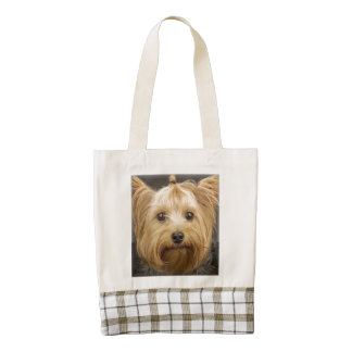 Yorkshire Terrier Zazzle HEART Tote Bag