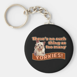 YORKSHIRE TERRIERS KEYCHAIN