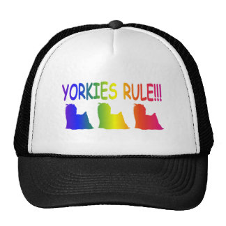 Yorkshire Terriers Rule Trucker Hat