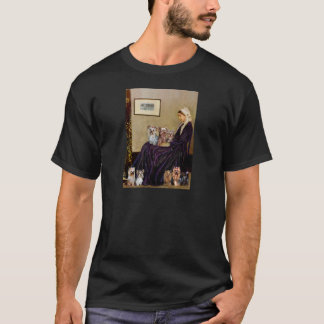 Yorkshire Terriers (Seven) - Whistlers Mother T-Shirt