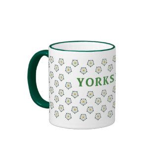 Yorkshire White Roses Mug