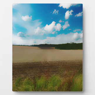 Yorkshire, with a artistic blur photo plaque
