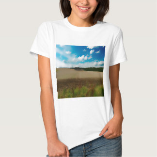 Yorkshire, with a artistic blur T-Shirt