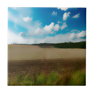 Yorkshire, with a artistic blur tile