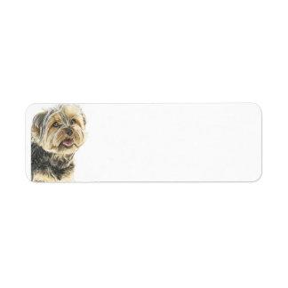 YorkshireTerrier jpg Return Address Labels