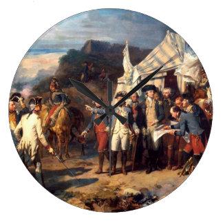 Yorktown Battle Wall Clock