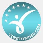 Yorktown Education Stickers