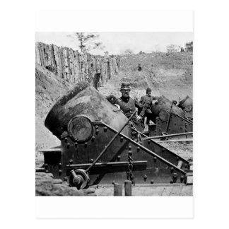 Yorktown Mortar Battery, 1860s Post Cards