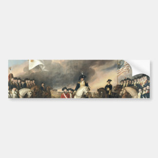 Yorktown Surrender by John Trumbull Bumper Sticker