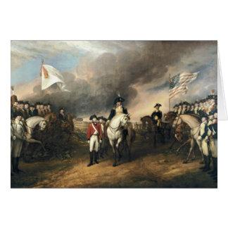 Yorktown Surrender by John Trumbull Greeting Card