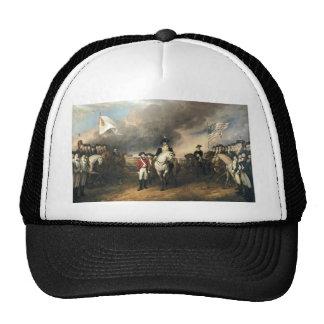 Yorktown Surrender by John Trumbull Mesh Hat
