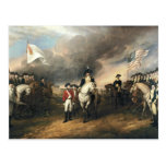 Yorktown Surrender by John Trumbull Postcard