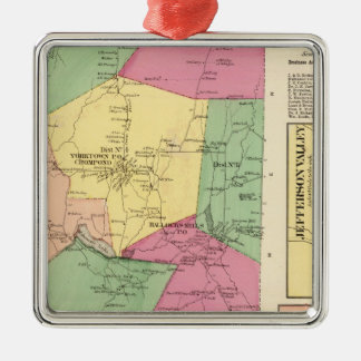 Yorktown, Town Metal Ornament