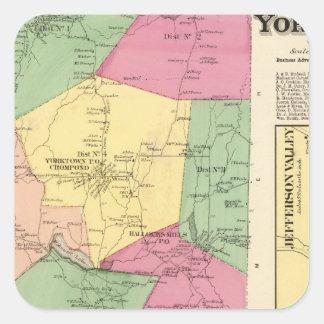 Yorktown, Town Square Sticker