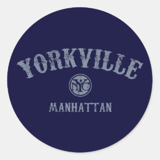 Yorkville Classic Round Sticker