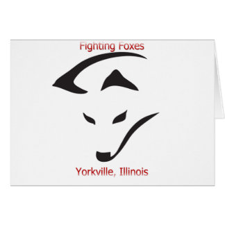 Yorkville Fighting Foxes Card