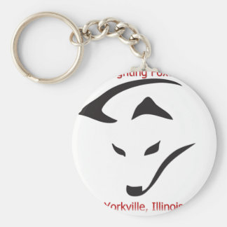 Yorkville Fighting Foxes Keychain