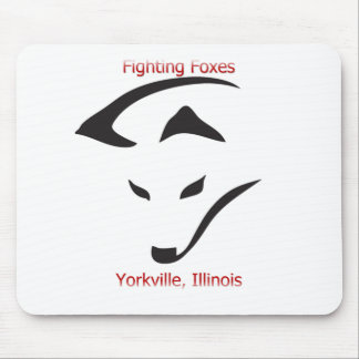 Yorkville Fighting Foxes Mouse Pad