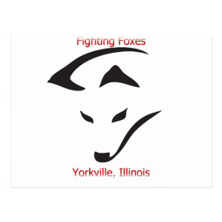 Yorkville Fighting Foxes Postcard
